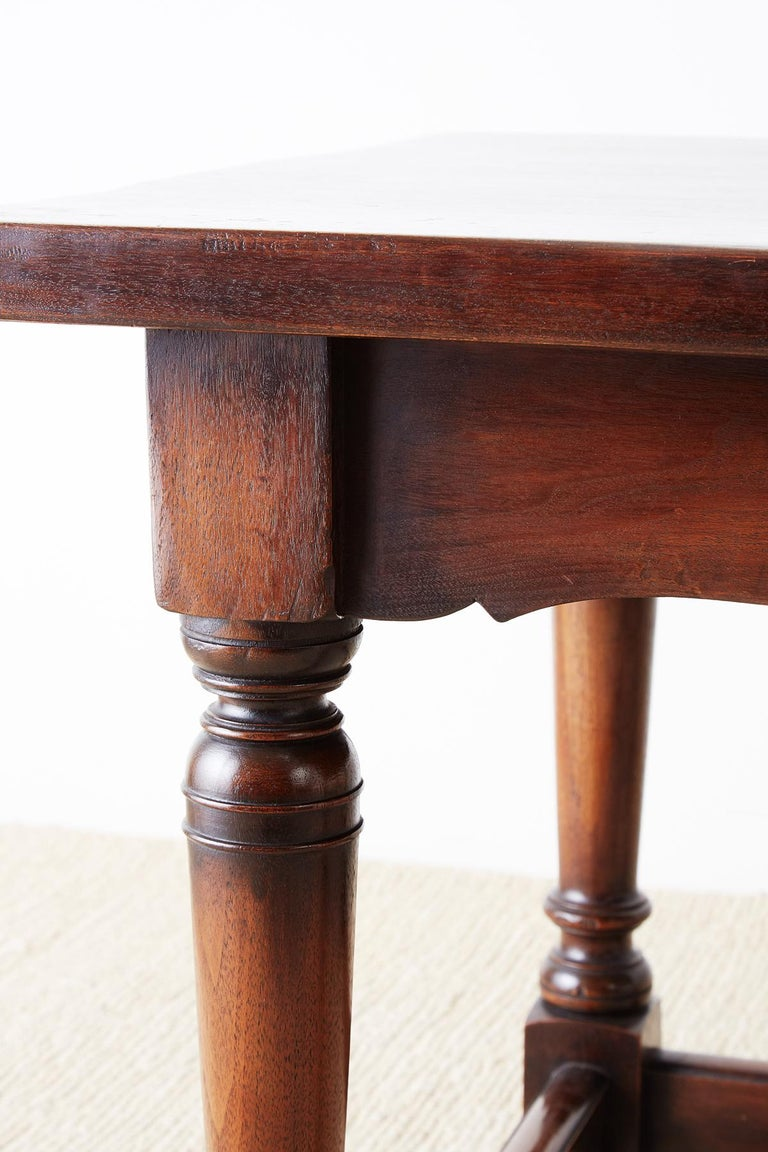 Italian Baroque Style Refectory Table or Library Table For Sale 6