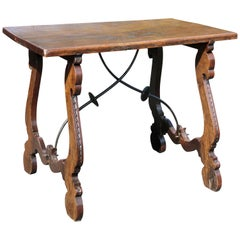 Italian Baroque Style Walnut Table