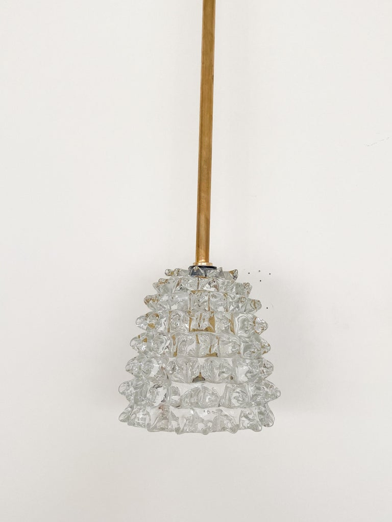 Italian Barovier Glass Pendant In Good Condition For Sale In Los Angeles, CA