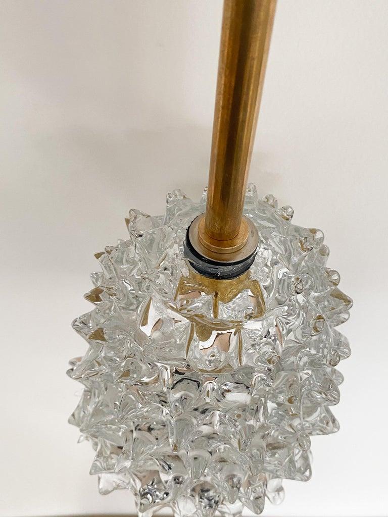Italian Barovier Glass Pendant For Sale 1