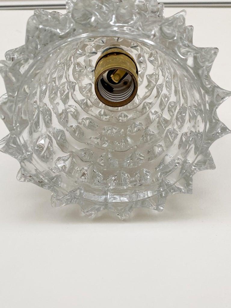 Italian Barovier Glass Pendant For Sale 2