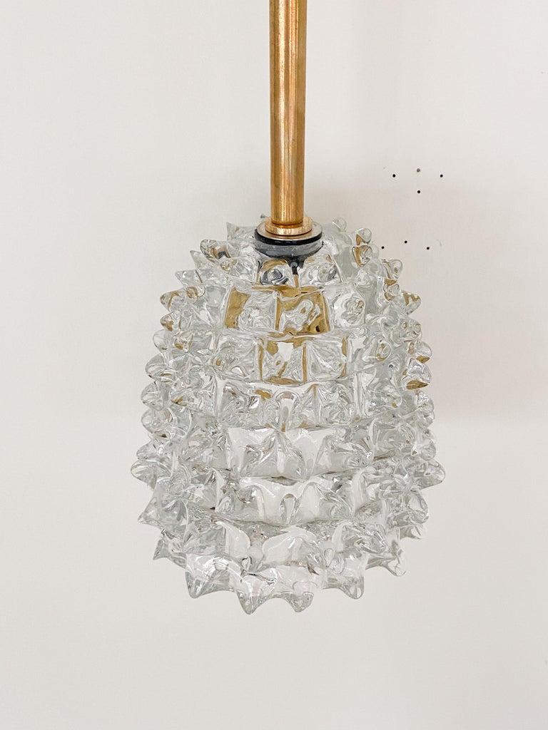 Italian Barovier Glass Pendant For Sale 3