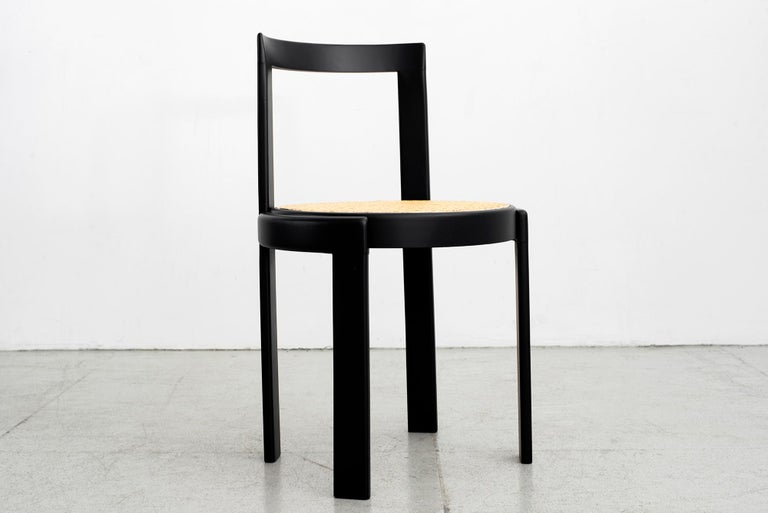 Italian Bentwood Caned Chairs, Set of 10 For Sale 3
