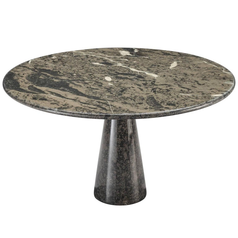 Italian Black and Grey Marble Centre Table