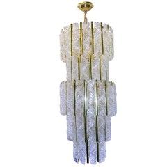 Italian Blown Glass Chandelier