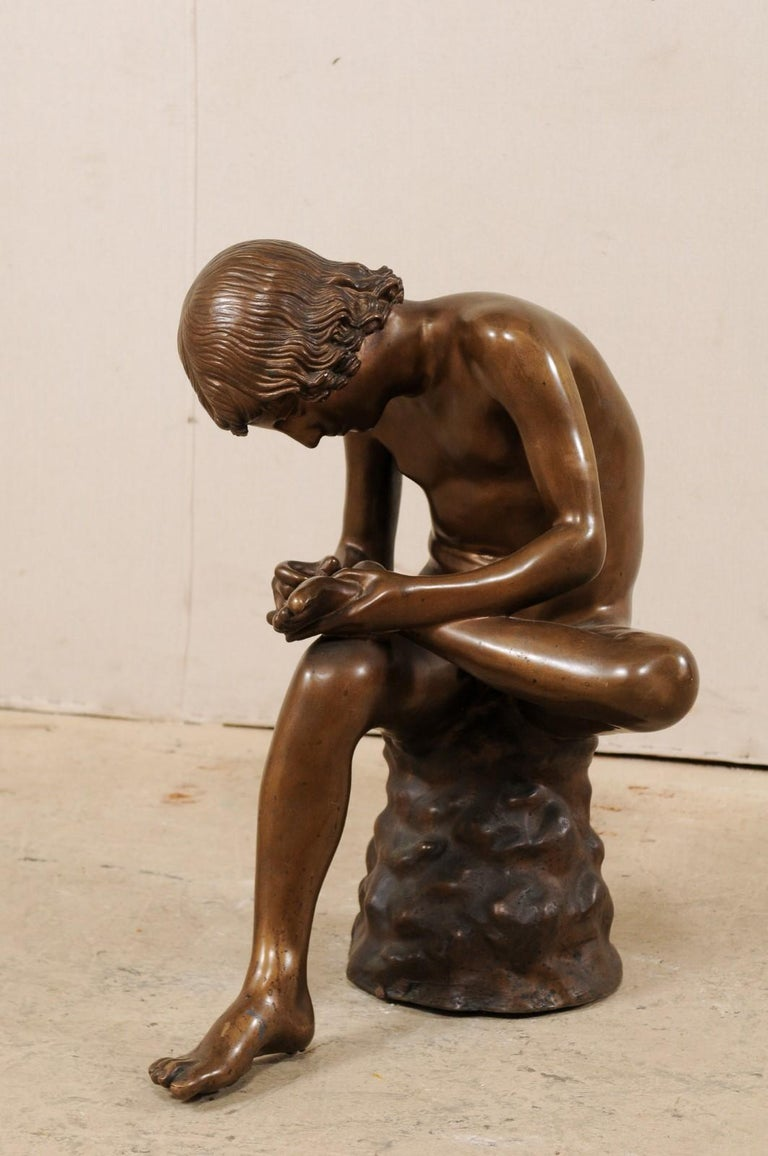 An Italian statue of
