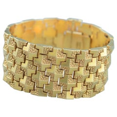 Italian Bracelet 18 Karat Gold, 1960s