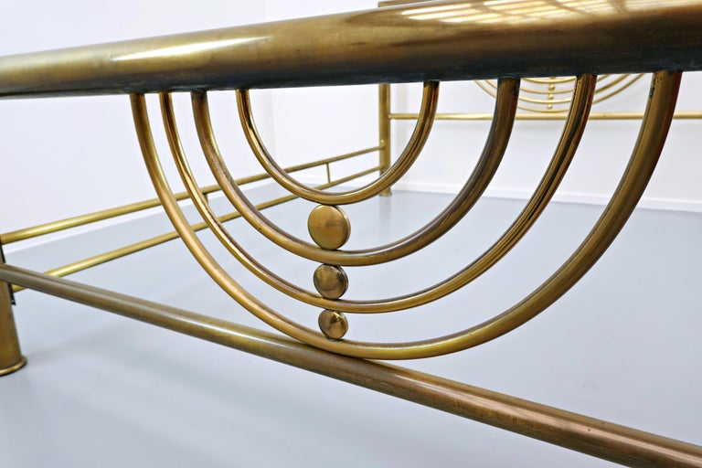 Italian Brass Bed In Good Condition For Sale In Brussels, BE