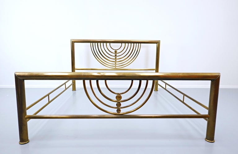 Italian Brass Bed For Sale 2