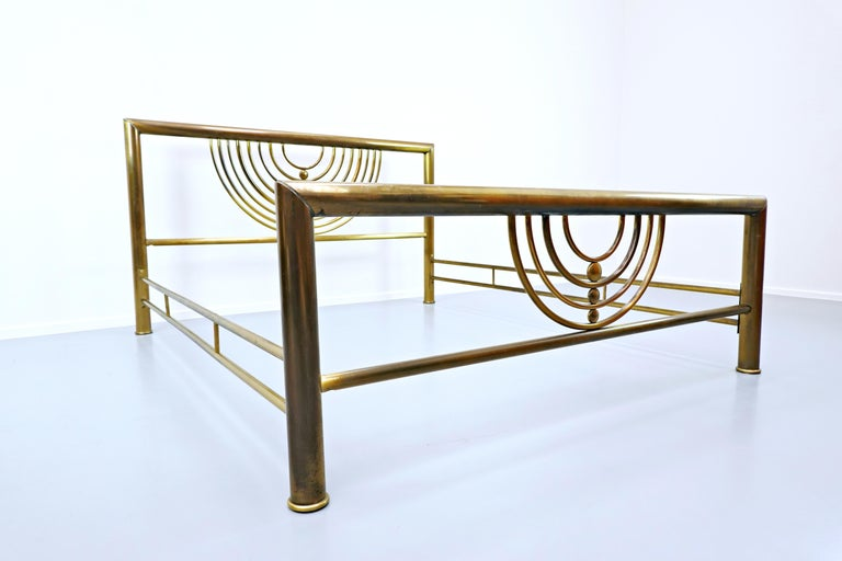 Italian Brass Bed For Sale 4