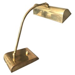 Italian Brass Desk Lamp
