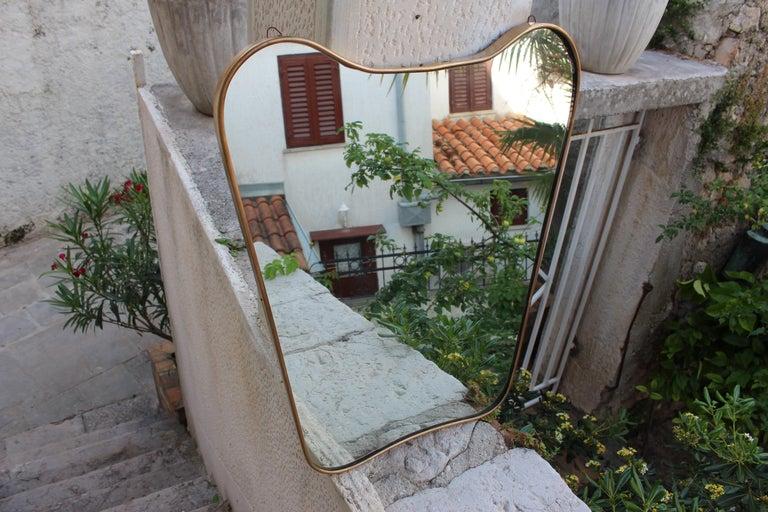 Italian wall mirror from 1950s.