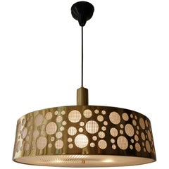 Italian Brass Pendant Light