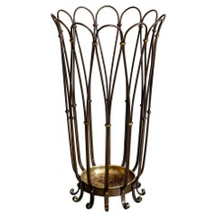 Italian Brass Umbrella Stand