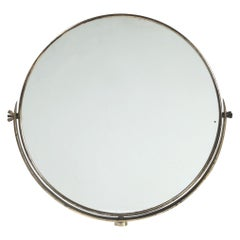 Italian Brass Vanity Mirror, 1950s