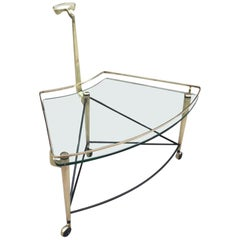 Italian Bronze Bar Cart