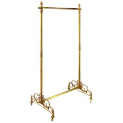 Italian Bronze Coat / Clothes Rack Stand