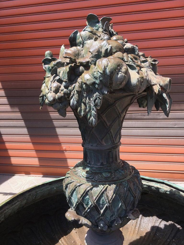 Italian Bronze Fountain For Sale 5