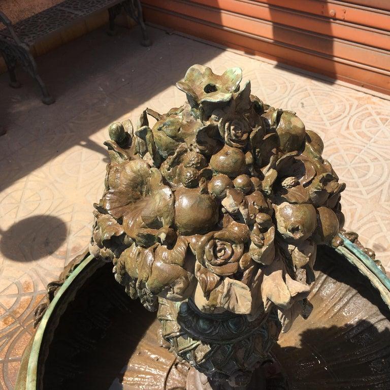 Italian Bronze Fountain For Sale 3