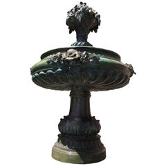 Italian Bronze Fountain