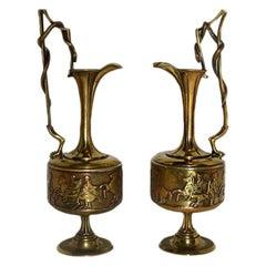 Italian Bronze Vases