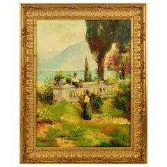 Italian Bucolic Scene Painting