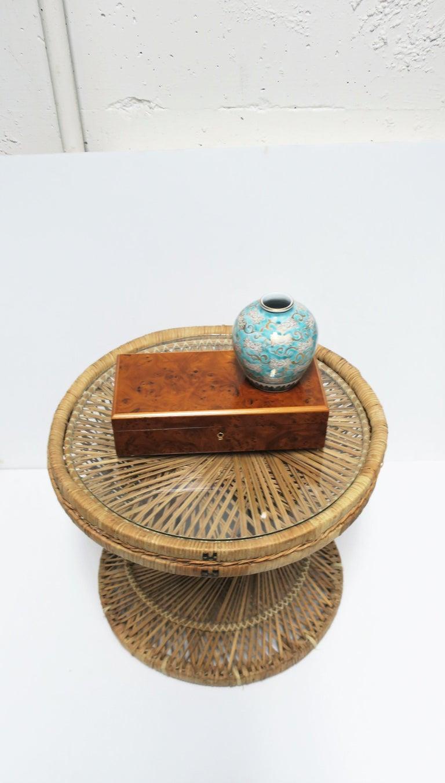 Italian Burl Wood Jewelry Box For Sale 5