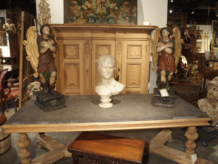 Italian Bust of Marcus Vipsanius Agrippa For Sale 6