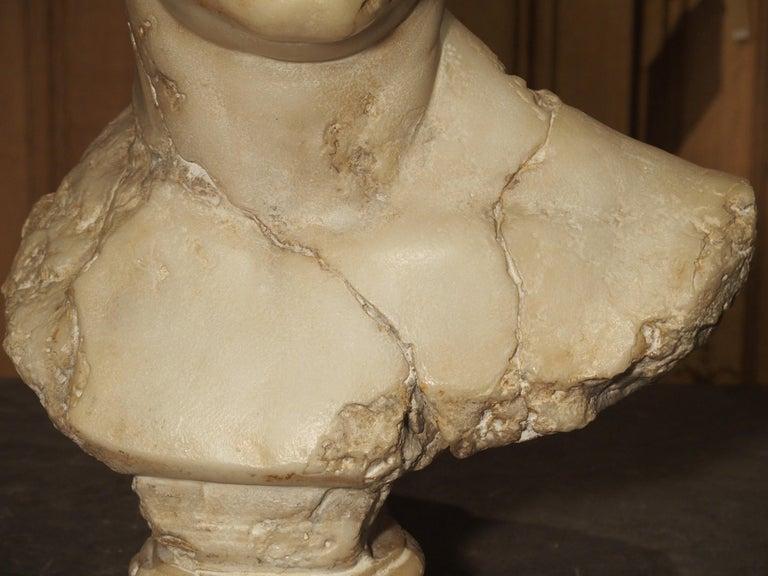 Classical Roman Italian Bust of Marcus Vipsanius Agrippa For Sale
