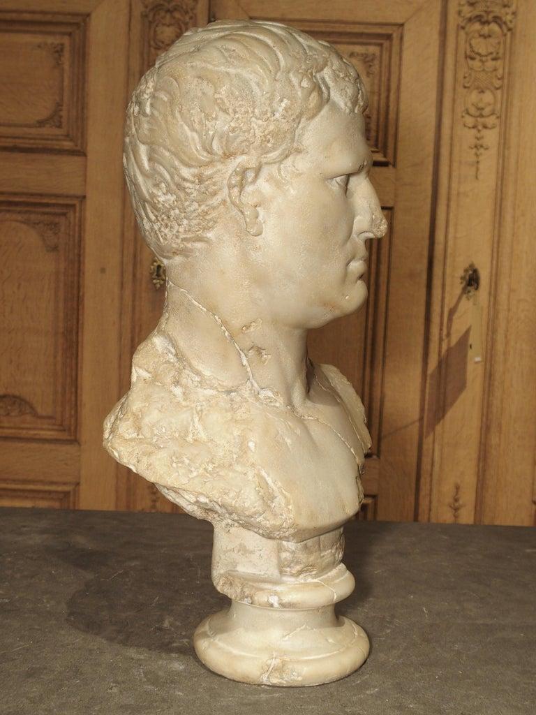 20th Century Italian Bust of Marcus Vipsanius Agrippa For Sale