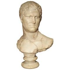 Italian Bust of Marcus Vipsanius Agrippa
