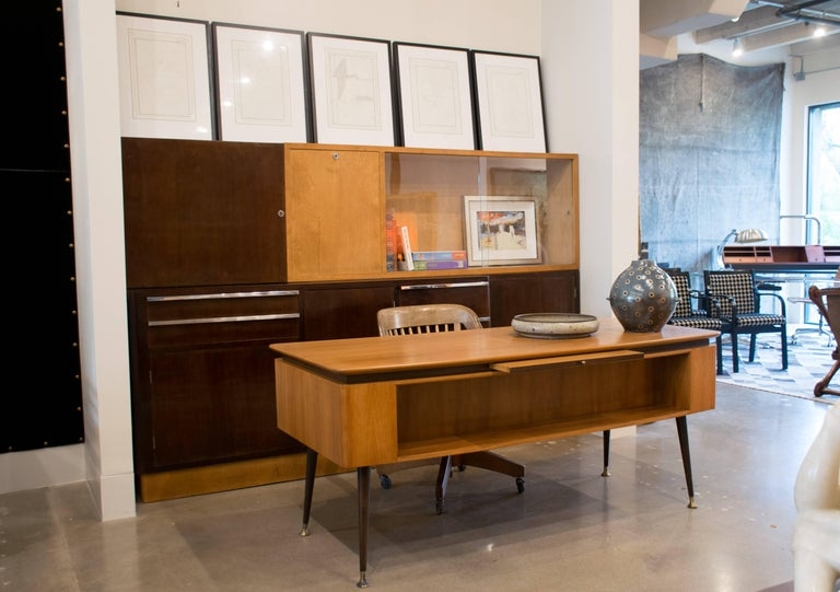 Italian Art Deco Cabinet of Birch and Rosewood, 1930-1940 In Good Condition For Sale In Austin, TX