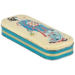 Italian Candy Tin Box with Geisha