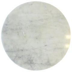 Italian Carrara Marble Lazy Susan