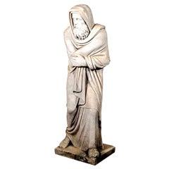 Italian Carrara Marble Statue