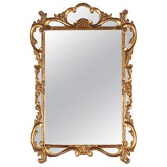 Italian Carved and Gilt Framed Mirror