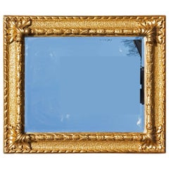 Italian Carved and Gold Gilt Baroque Picture Frame