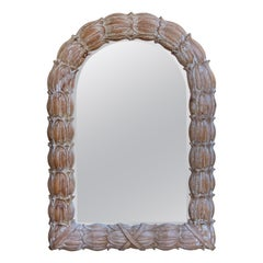 Italian Carved and Polychromed Neoclassical Mirror