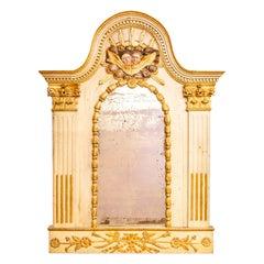 Italian Carved Gilt Mirror