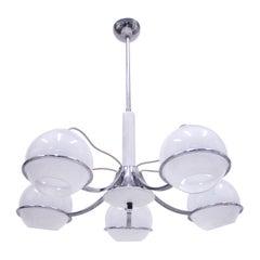 Italian Ceiling Lamp Attributed to Gino Sarfatti, 1960s