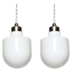 Italian Ceiling Pendants, Set of Two