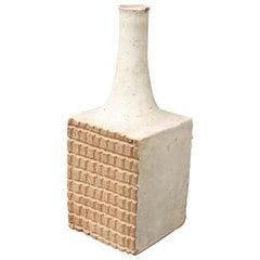 Italian Ceramic Decorative Bottle by Bruno Gambone 'circa 1980s', Small