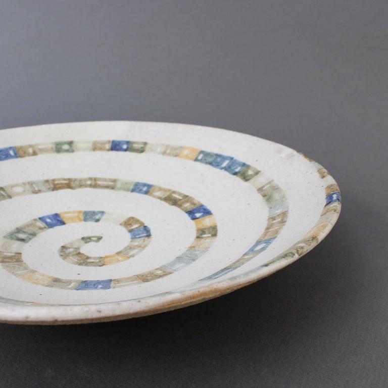 Italian Ceramic Decorative Bowl by Bruno Gambone (circa 1980s) For Sale 13