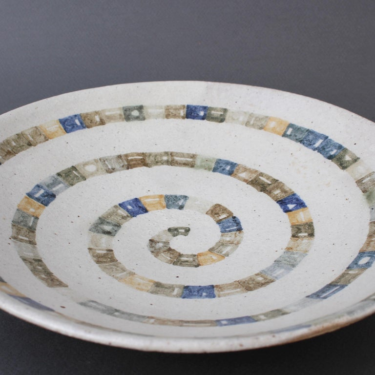 Italian Ceramic Decorative Bowl by Bruno Gambone (circa 1980s) For Sale 15