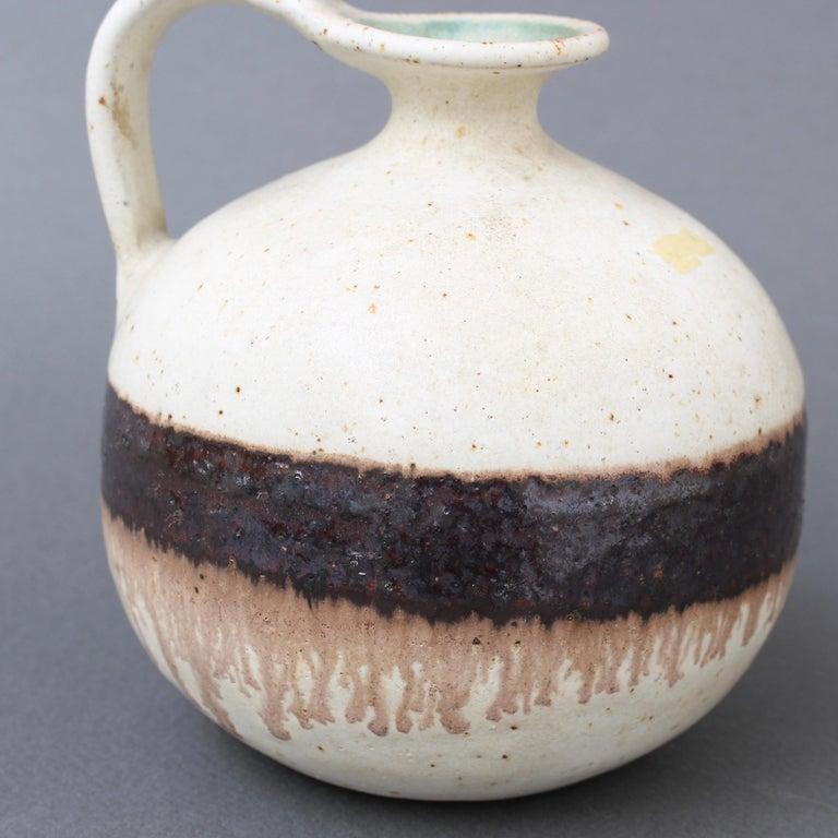 Italian Ceramic Decorative Jug by Bruno Gambone, circa 1970s For Sale 7