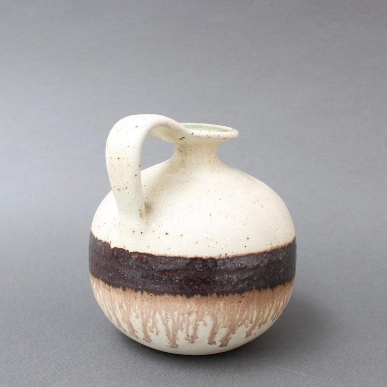Italian Ceramic Decorative Jug by Bruno Gambone, circa 1970s In Good Condition For Sale In London, GB