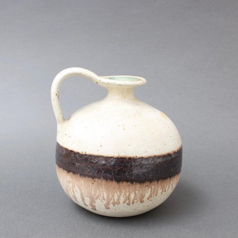 Late 20th Century Italian Ceramic Decorative Jug by Bruno Gambone, circa 1970s For Sale