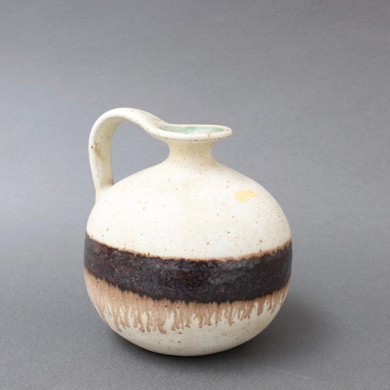 Italian Ceramic Decorative Jug by Bruno Gambone, circa 1970s For Sale 1