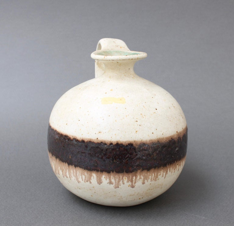 Italian Ceramic Decorative Jug by Bruno Gambone, circa 1970s For Sale 2