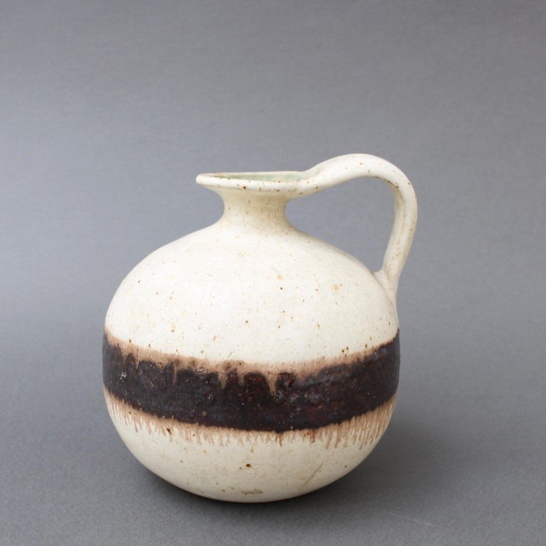 Italian Ceramic Decorative Jug by Bruno Gambone, circa 1970s For Sale 3